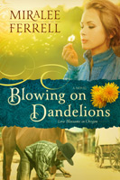 book cover: blowing on dandelions